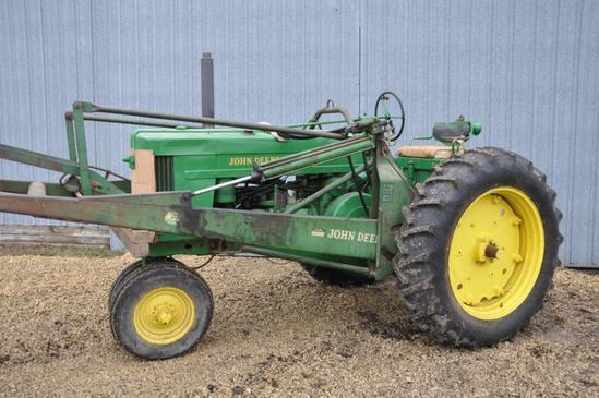 1956 John Deere 70 gas 2wd tractor