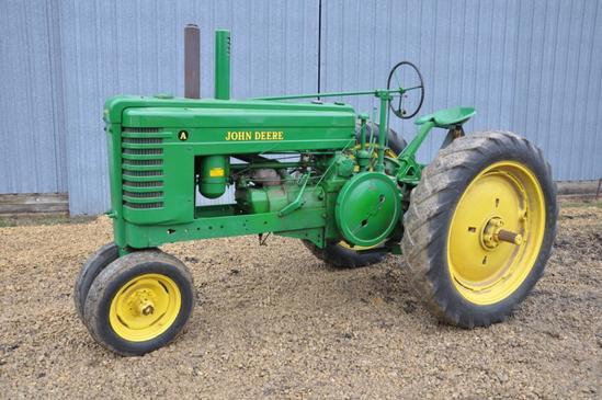 1941 John Deere A gas 2wd tractor