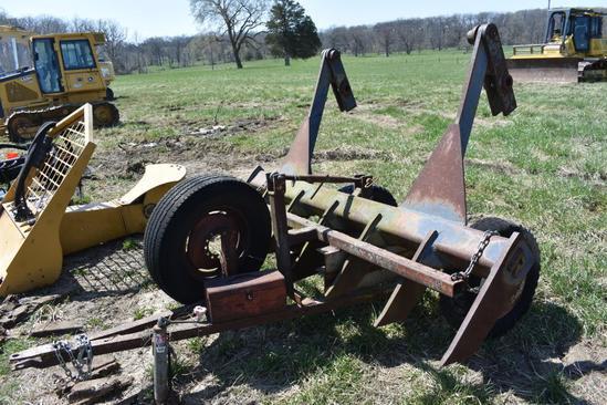 8' root rake for dozer blade
