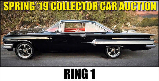 Spring 2019 Collector Car Auction - Ring 1