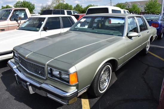 1986 Chevrolet Caprice | Collector Cars | Auctions Online