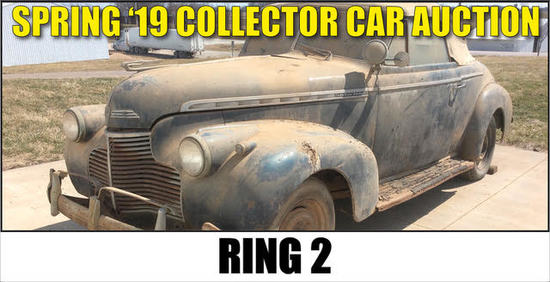 Spring 2019 Collector Car Auction - Ring 2