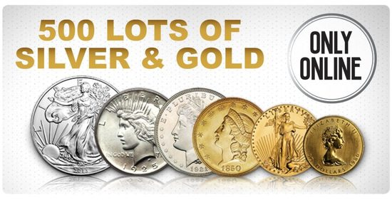 Sullivan Auctioneers Online Only Coin Auction