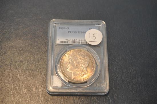 1899-O PCGS MS64 MORGAN SILVER DOLLAR