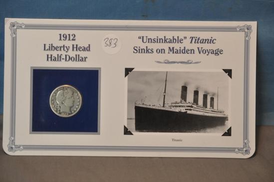 1912 LIBERTY HEAD HALF DOLLAR