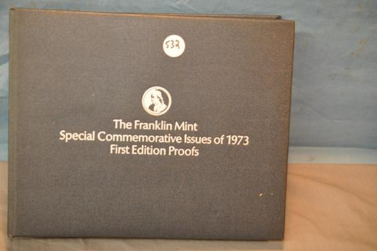 1973 FRANKLIN MINT SILVER PROOFS