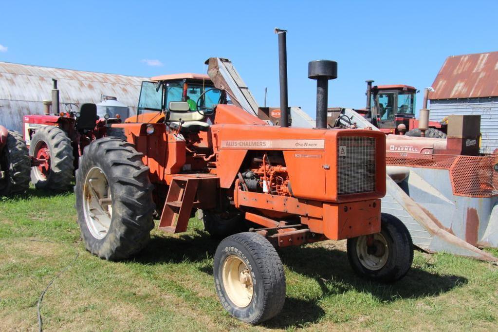 1969 Allis Chalmers 190 XT Series III diesel tractor