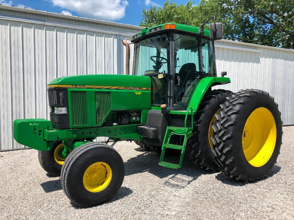 1996 John Deere 7800 2wd tractor