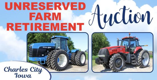 Unreserved Farm Retirement Auction