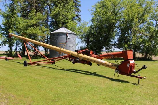 """Westfield MK 130-71 13"""" X 71' hyd. swingaway auger"""