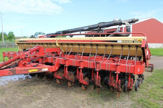 Krause 5250 20' no-till grain drill