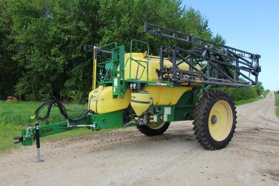 Top Air TA1600 1600 gallon pull type sprayer