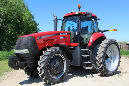Case MX215 MFWD tractor