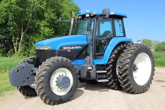 New Holland 8970A MFWD tractor