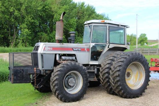 White 2-180 Series 3 MFWD tractor