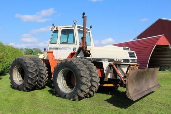 Case 2870 4wd tractor