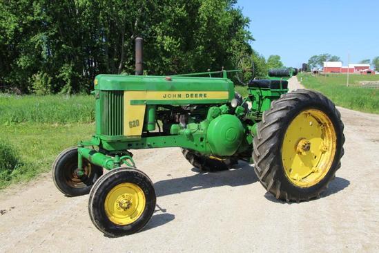 John Deere 620 gas tractor