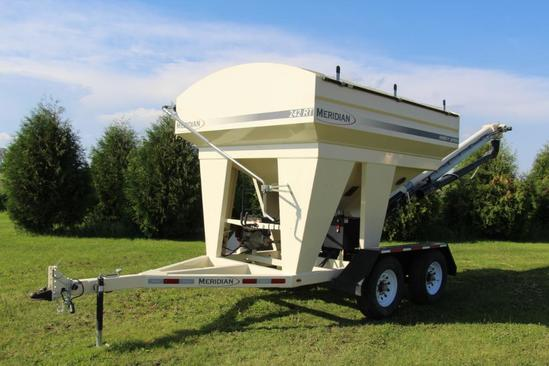 Meridian 242 RT Seed Express 2 compartment tandem axle seed tender