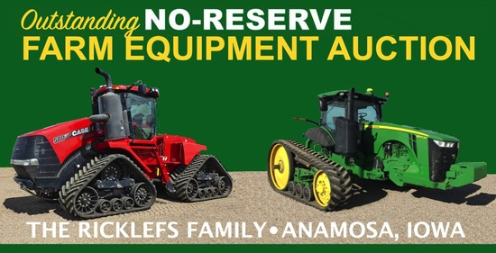 Outstanding No-Reserve Farm Equipment Auction