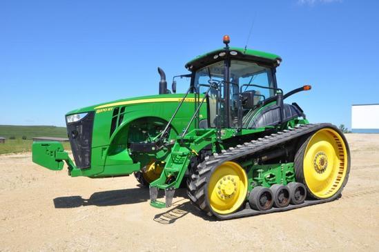2014 John Deere 8370RT track tractor