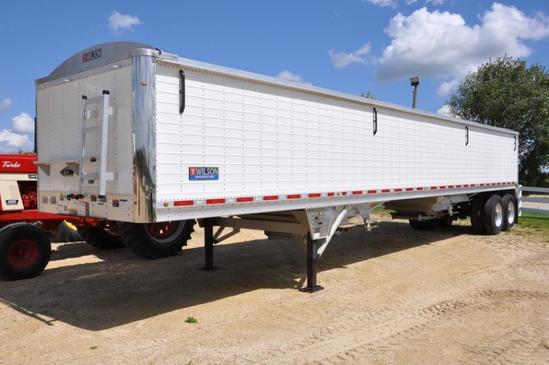 2019 Wilson DWH-600 43' hopper bottom trailer