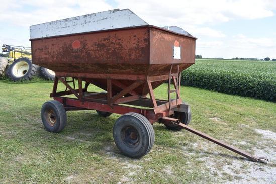 J&M 250 gravity wagon on JD running gear