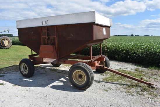175 bu. gravity wagon on running gear