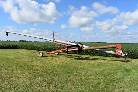 "Mayrath 10""x62' swing away auger"