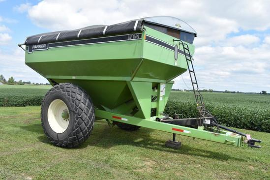 Parker 614 Grain Chariot grain cart
