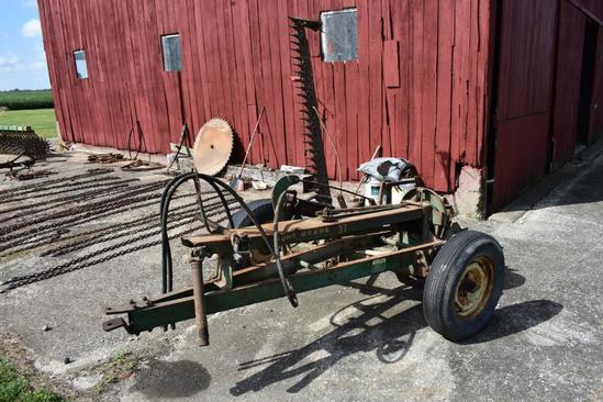 John Deere 37 7' pull-type sickle bar mower
