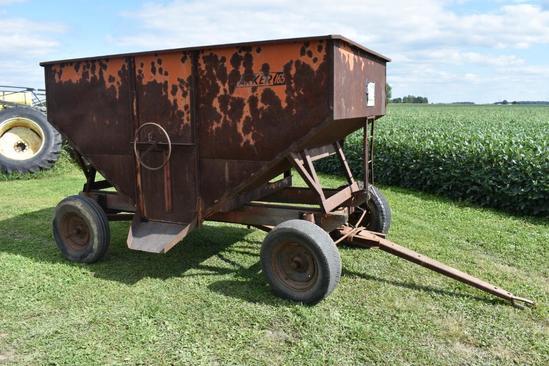Parker 165 gravity wagon on running gear