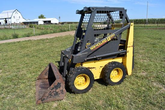 New Holland LS120 skid loader