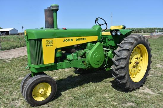 John Deere 730 dsl. tractor