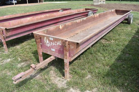 Apache 24' portable feed bunk