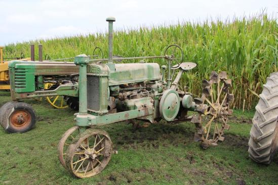 1936 John Deere Unstyled A tractor