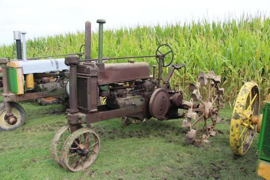 1935 John Deere A tractor