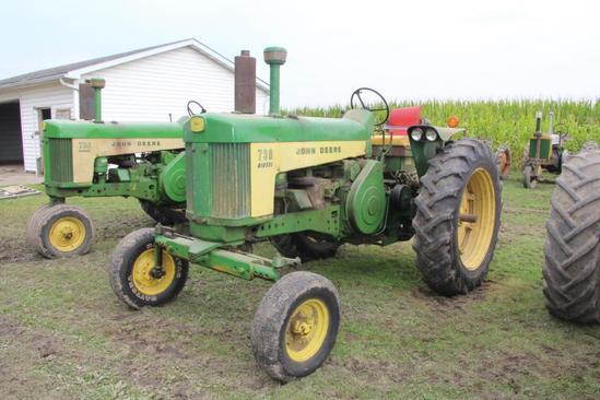 1957 John Deere 720 diesel tractor