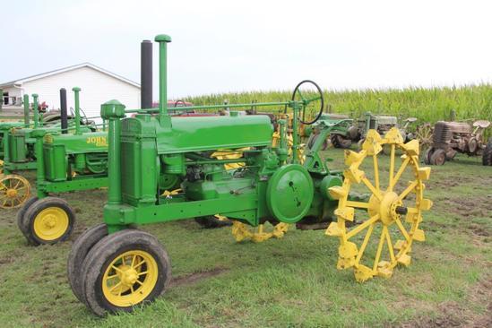 1936 John Deere A tractor