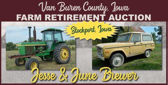 Van Buren County, IA Farm Retirement Auction