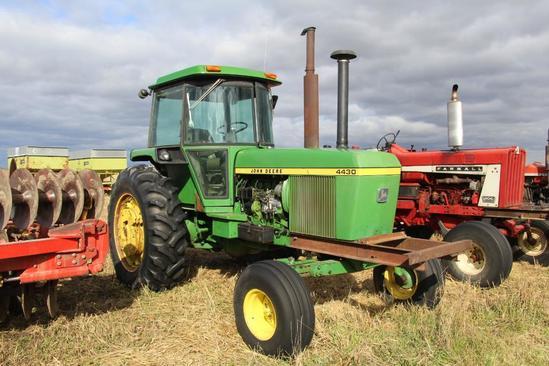 1977 John Deere 4430 2wd diesel tractor