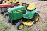 John Deere 318 riding lawn mower