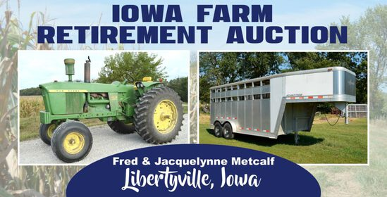 Iowa Farm Retirement Auction