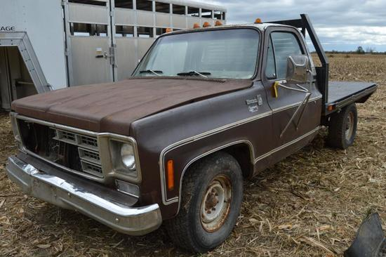1978 Chevrolet 3/4 ton 2wd pickup