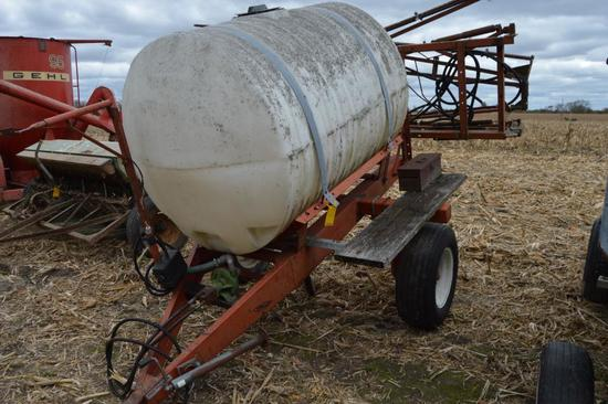 Sprayer Specialties 500 gallon pull-type sprayer