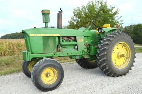 1967 John Deere 4020 2wd Diesel tractor