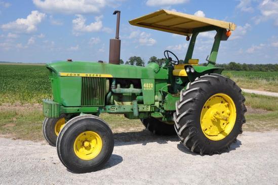 1969 John Deere 4020 2wd tractor