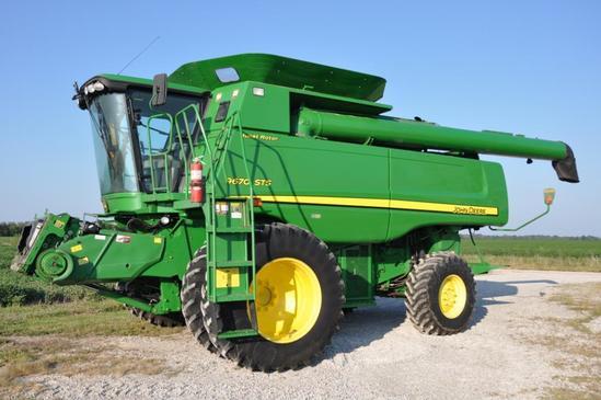 2009 John Deere 9670STS 4wd combine