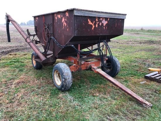 Gravity wagon w/hyd. seed auger
