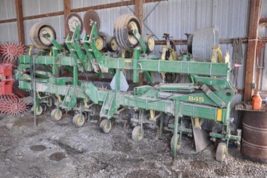 "John Deere 845 12 row 30"" cultivator"