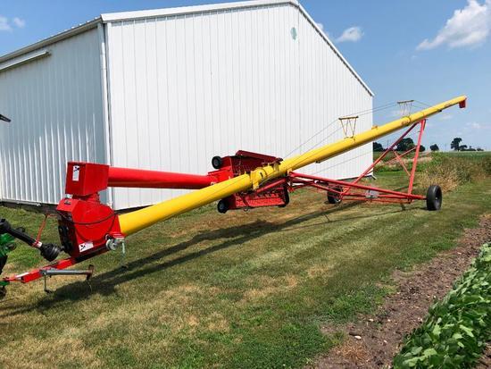 """Westfield MK100-61 10""""x61' swing-away auger"""